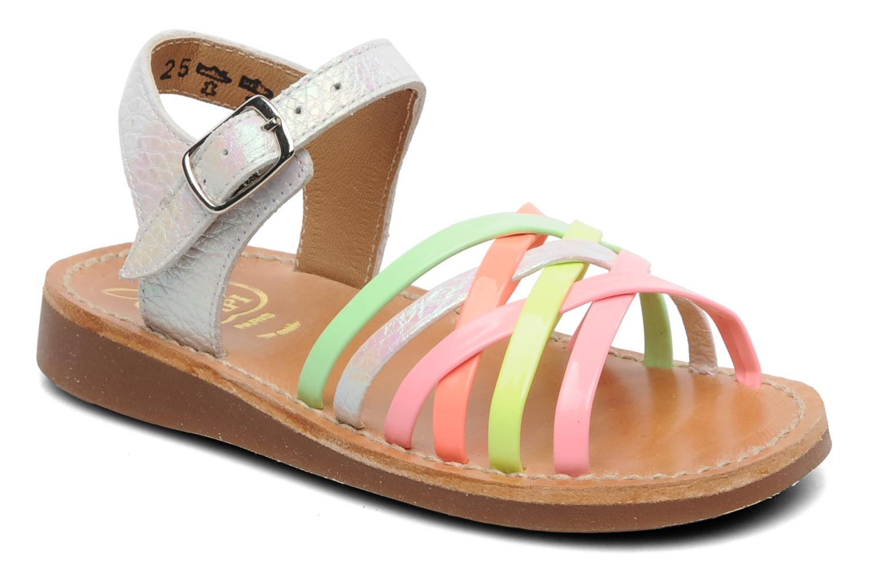 Sandalen Pom d Api Yapo Lux Multicolor detail