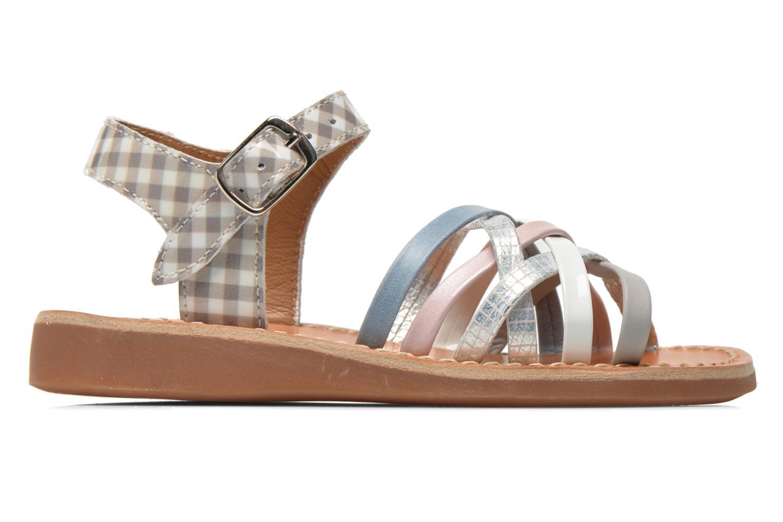 Sandaler Pom d Api Yapo Lux Multi bild från baksidan