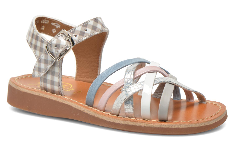 Sandaler Pom d Api Yapo Lux Multi detaljeret billede af skoene