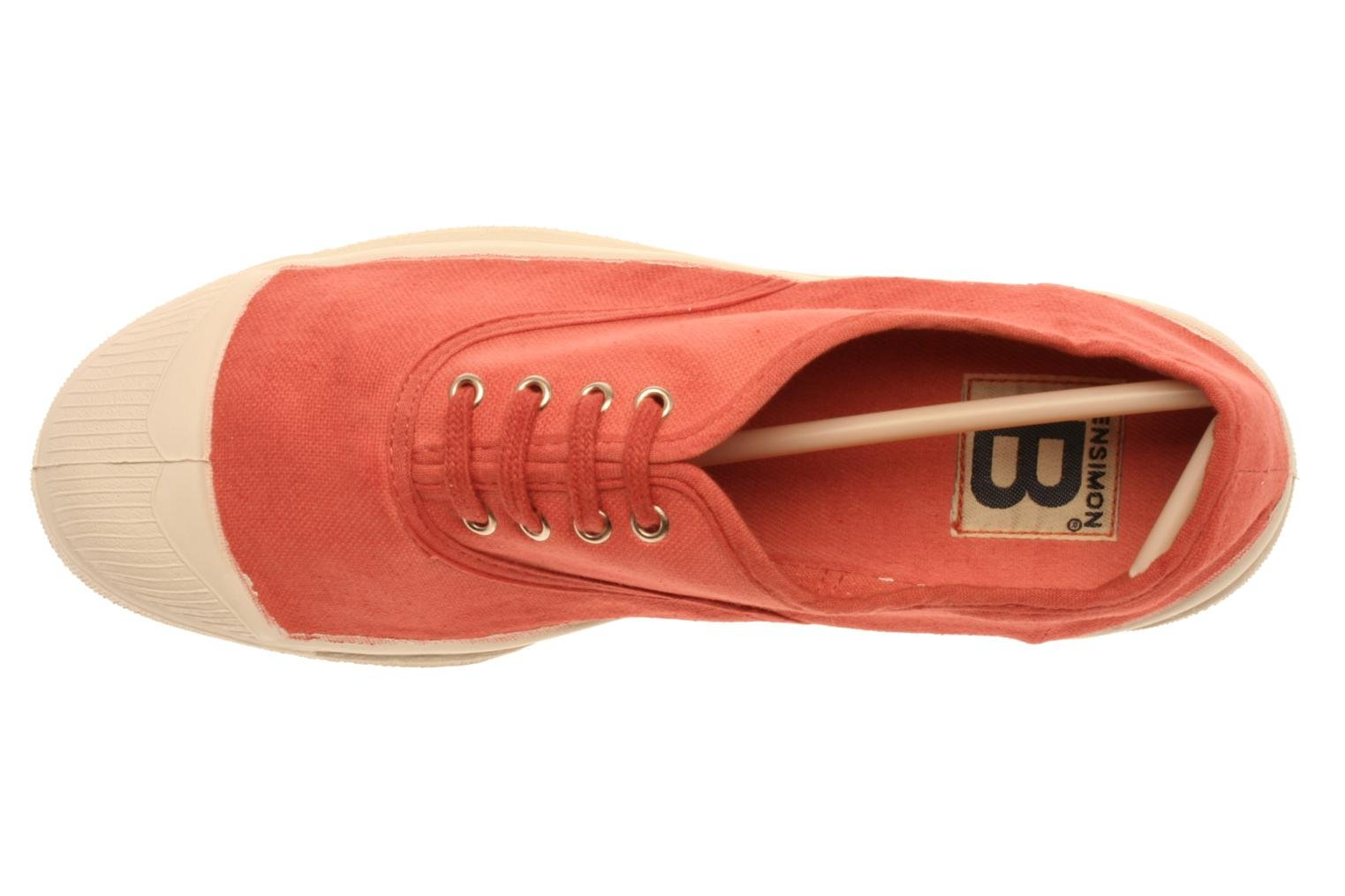 Sneakers Bensimon Tennis Lacets Rosa immagine sinistra