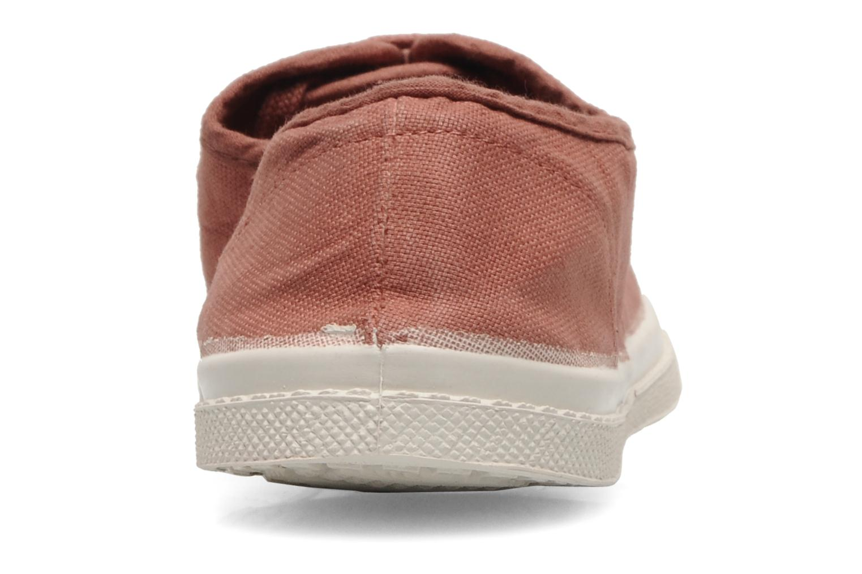 Sneakers Bensimon Tennis Lacets Rosa immagine destra