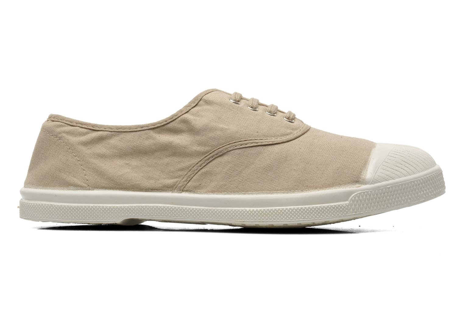 Trainers Bensimon Tennis Lacets Beige back view