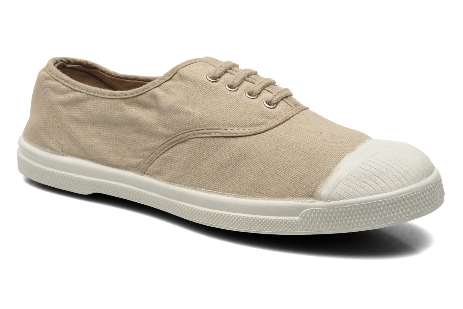 Trainers Bensimon Tennis Lacets Beige detailed view/ Pair view