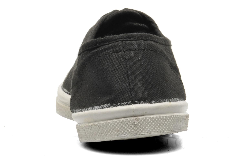 Sneakers Bensimon Tennis Lacets Zwart rechts