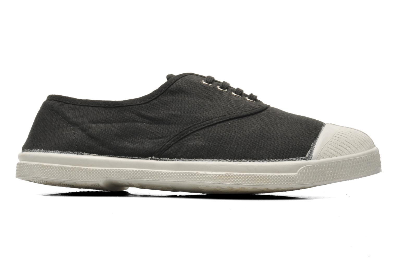 Sneaker Bensimon Tennis Lacets schwarz ansicht von hinten