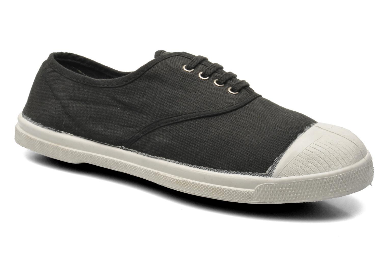 Sneaker Bensimon Tennis Lacets schwarz detaillierte ansicht/modell