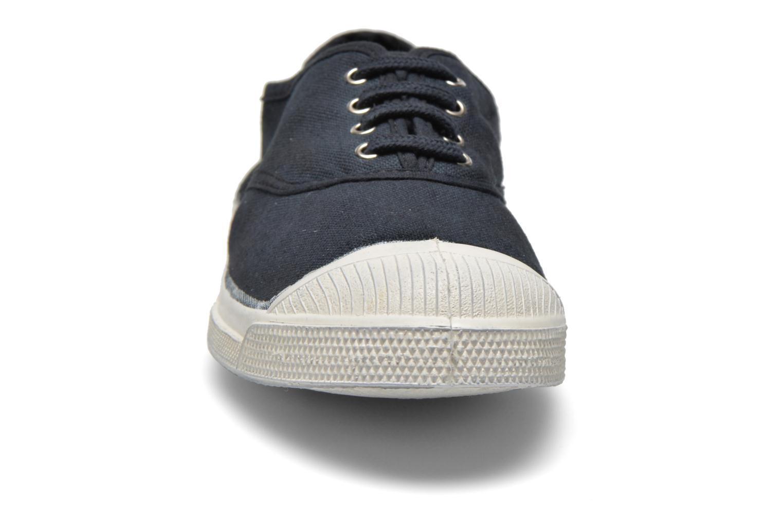 Sneaker Bensimon Tennis Lacets schwarz schuhe getragen