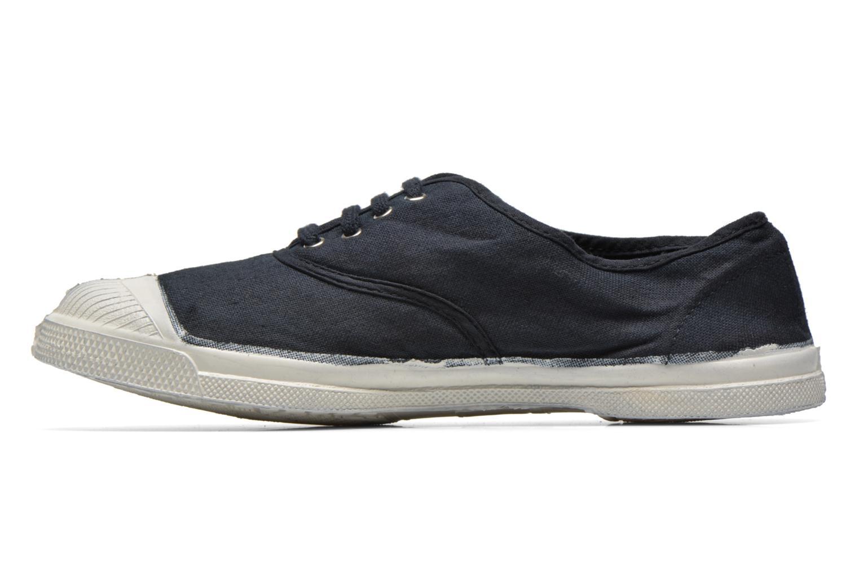 Sneaker Bensimon Tennis Lacets schwarz ansicht von vorne