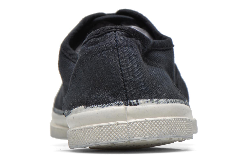 Sneaker Bensimon Tennis Lacets schwarz ansicht von rechts