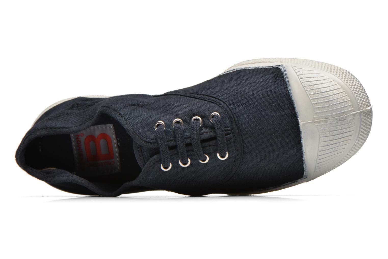 Sneaker Bensimon Tennis Lacets schwarz ansicht von links