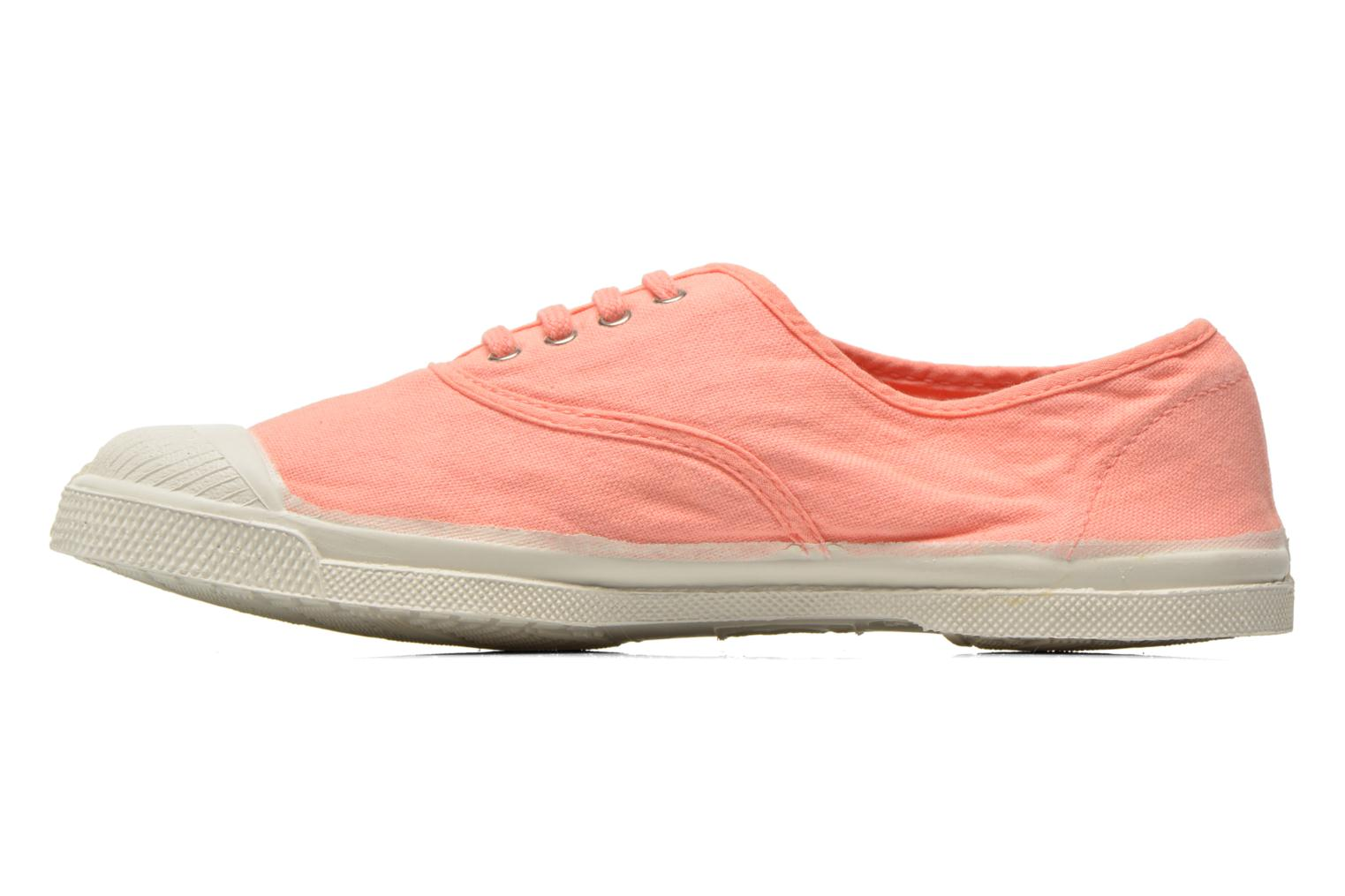 Baskets Bensimon Tennis Lacets W Orange vue face