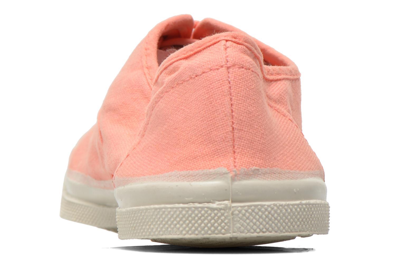 Sneakers Bensimon Tennis Lacets Oranje rechts