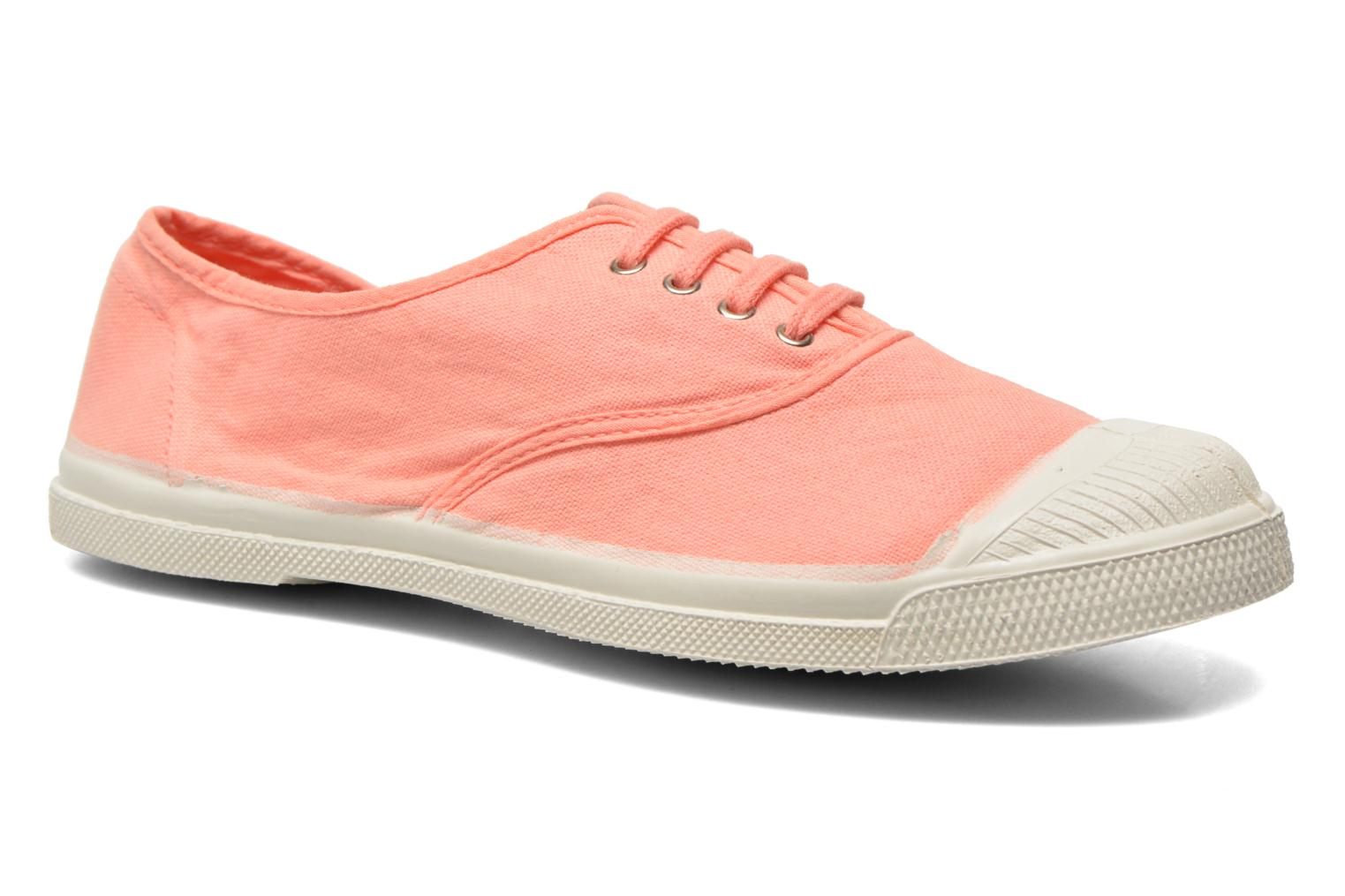Trainers Bensimon Tennis Lacets Orange detailed view/ Pair view