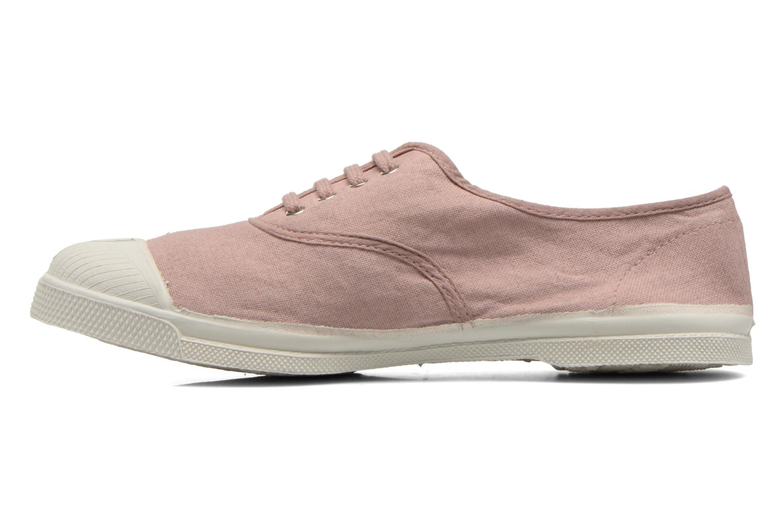 Tennis Lacets Rose grisé