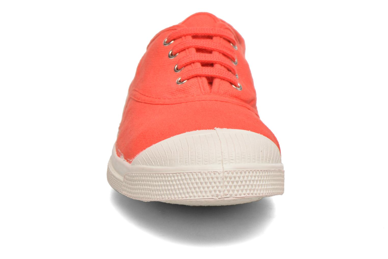 Tennis Lacets Coquelicot