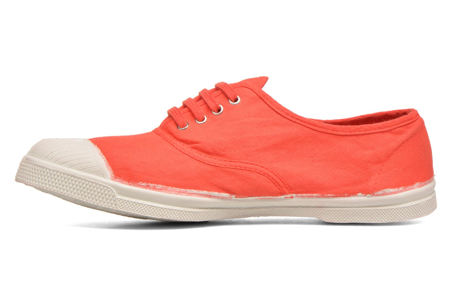 Trainers Bensimon Tennis Lacets Red front view