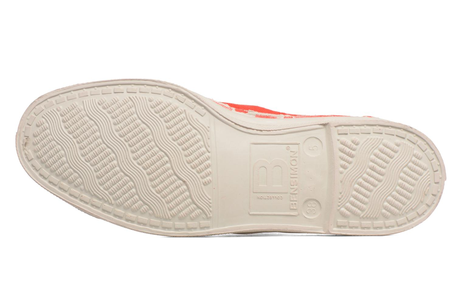 Sneakers Bensimon Tennis Lacets Rood boven