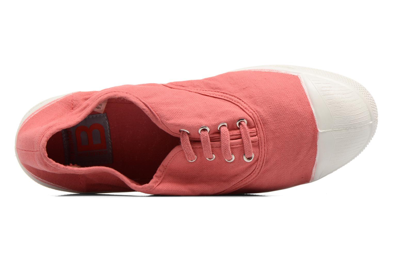 Sneakers Bensimon Tennis Lacets Pink se fra venstre