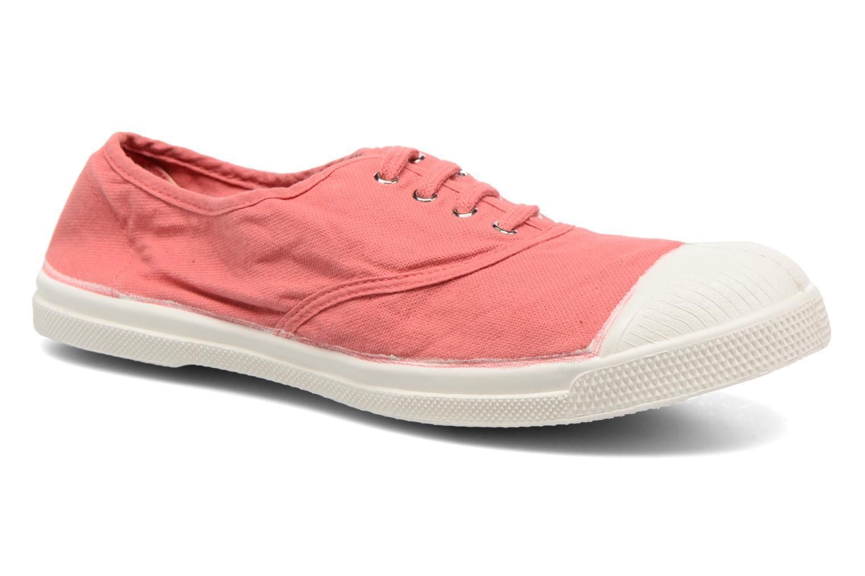 Sneakers Bensimon Tennis Lacets Pink detaljeret billede af skoene