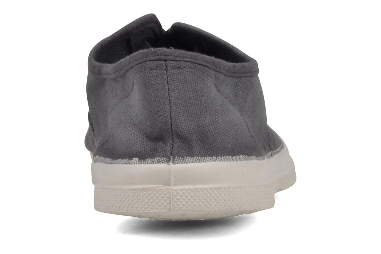 Sneaker Bensimon Tennis Lacets grau ansicht von rechts