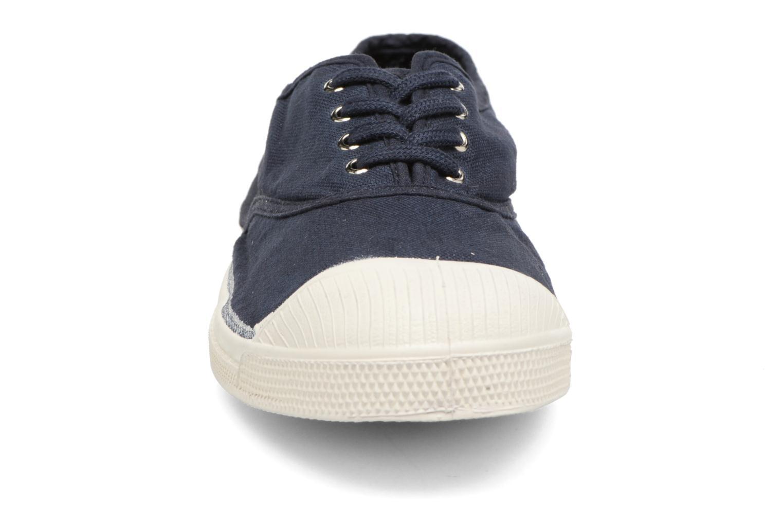 Sneakers Bensimon Tennis Lacets Azzurro modello indossato