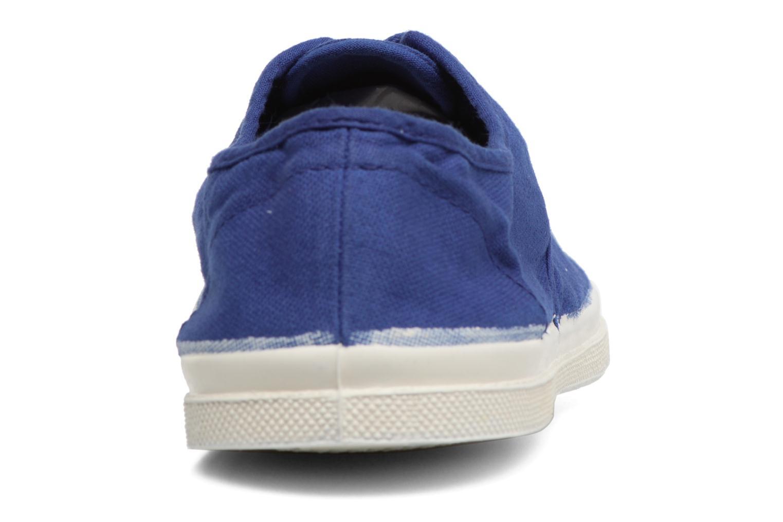 Tennis Lacets bleu 2