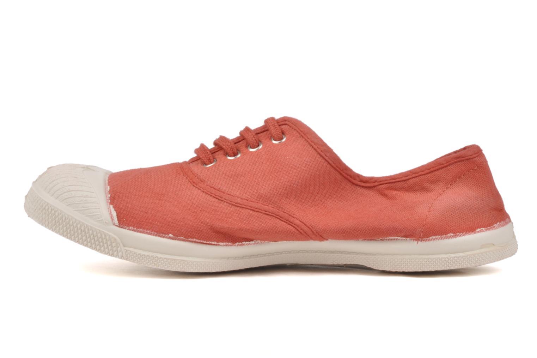Sneakers Bensimon Tennis Lacets Arancione immagine frontale