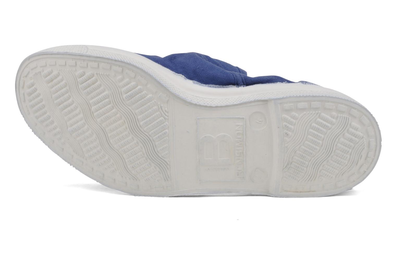 Sneaker Bensimon Tennis Lacets blau ansicht von oben