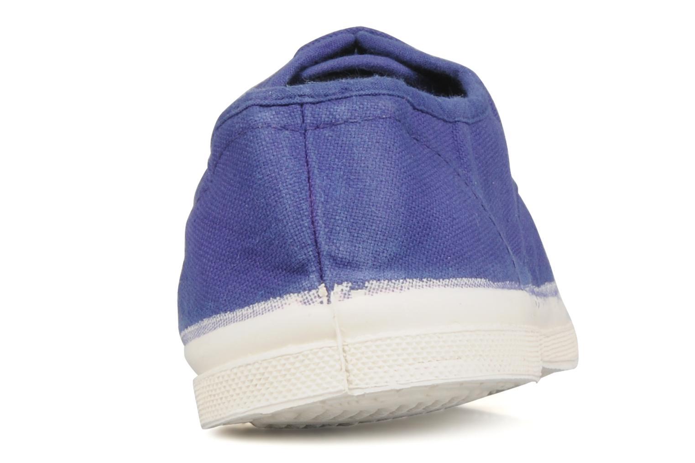 Sneakers Bensimon Tennis Lacets Viola immagine destra