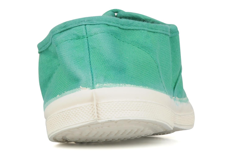 Sneakers Bensimon Tennis Lacets Groen rechts