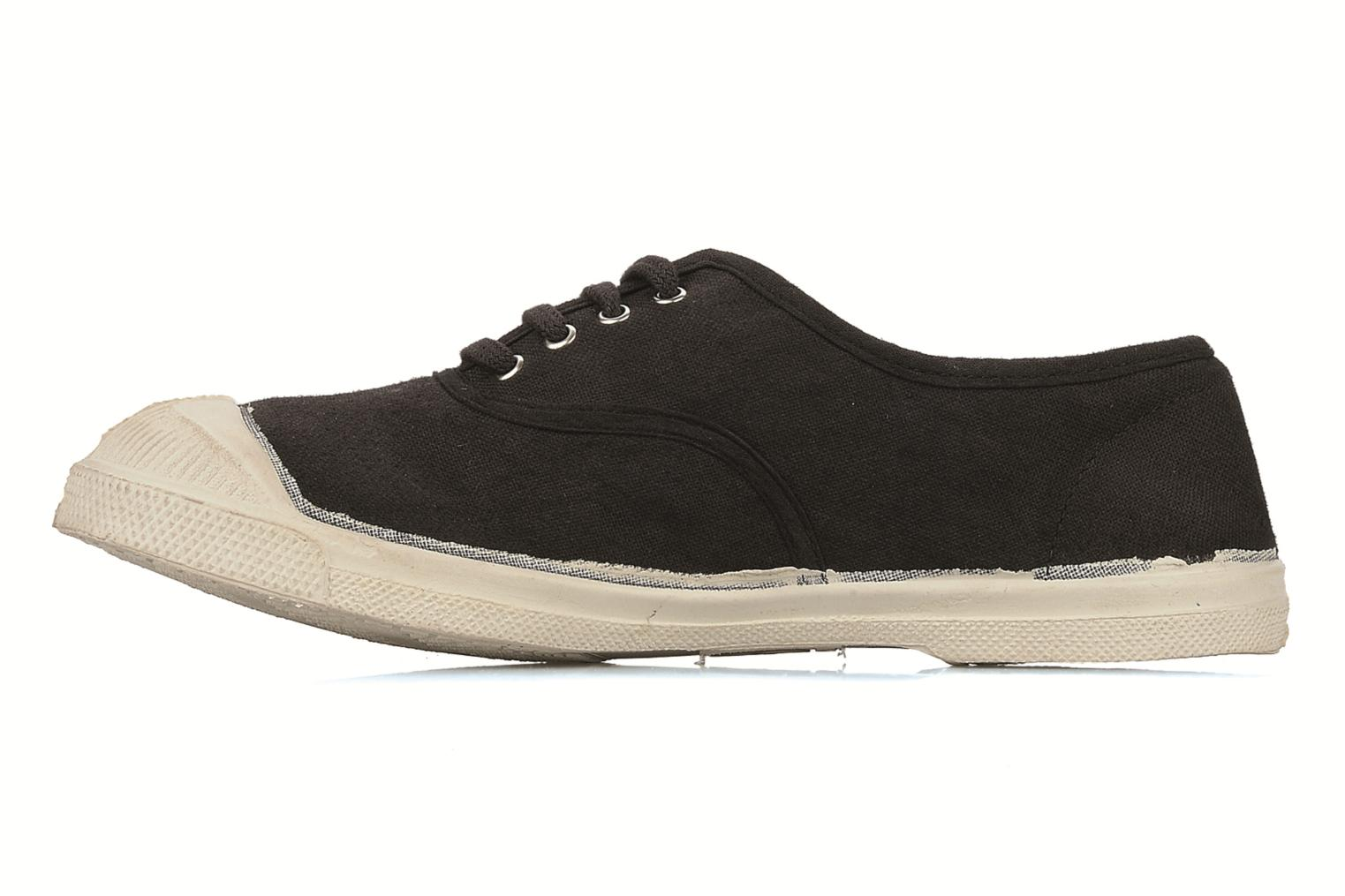 Sneakers Bensimon Tennis Lacets Sort se forfra
