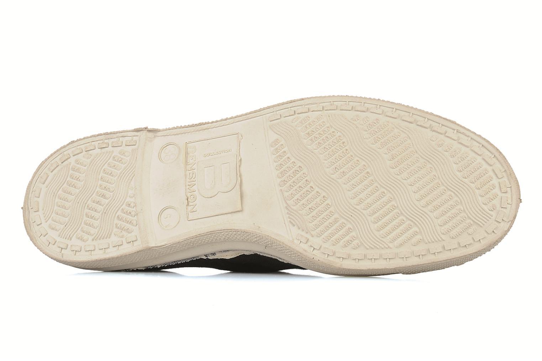 Sneakers Bensimon Tennis Lacets Zwart boven