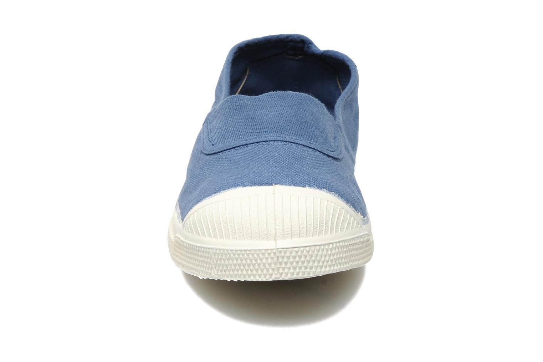 Ballet pumps Bensimon Tennis Elastique Blue model view