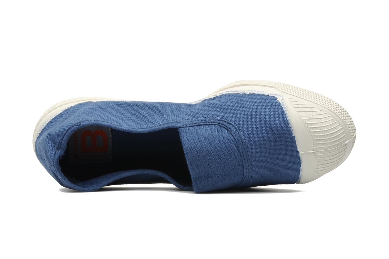 Ballerina's Bensimon Tennis Elastique Blauw links