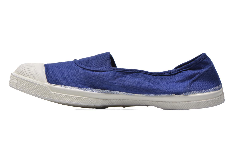 Ballet pumps Bensimon Tennis Elastique Blue front view