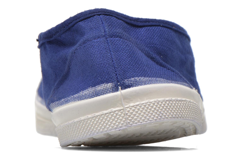 Ballerinas Bensimon Tennis Elastique blau ansicht von rechts