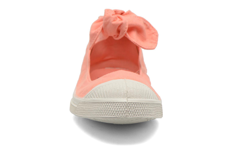 Ballerines Bensimon Ballerine Flo Orange vue portées chaussures