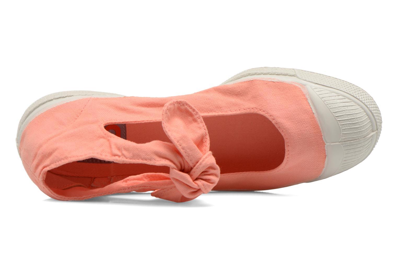 Ballerinas Bensimon Ballerine Flo orange ansicht von links