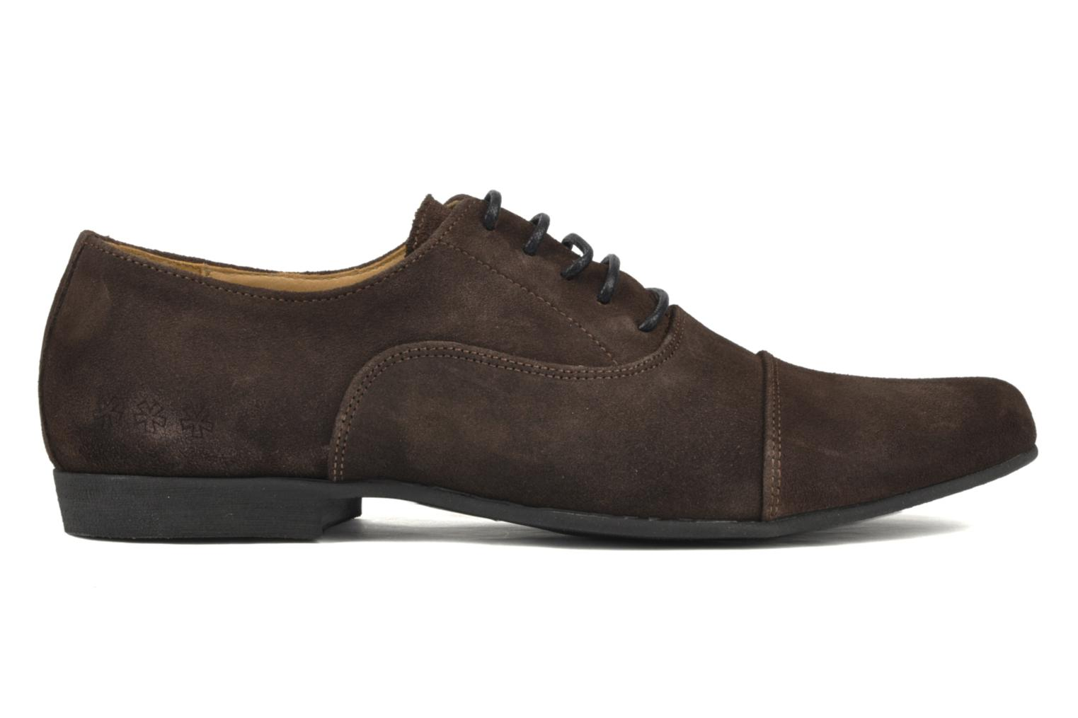 Lace-up shoes Swear Jimmy 1 Brown back view