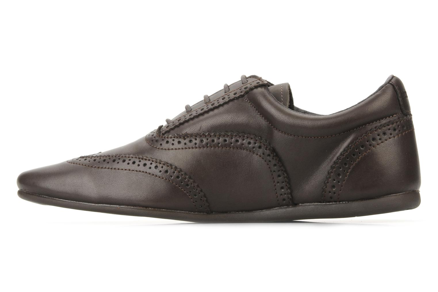 Lace-up shoes Schmoove Jamaica Corso Easy Brown front view