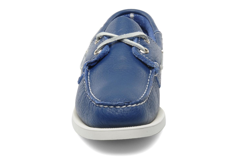 Lace-up shoes Sebago Docksides W Blue model view