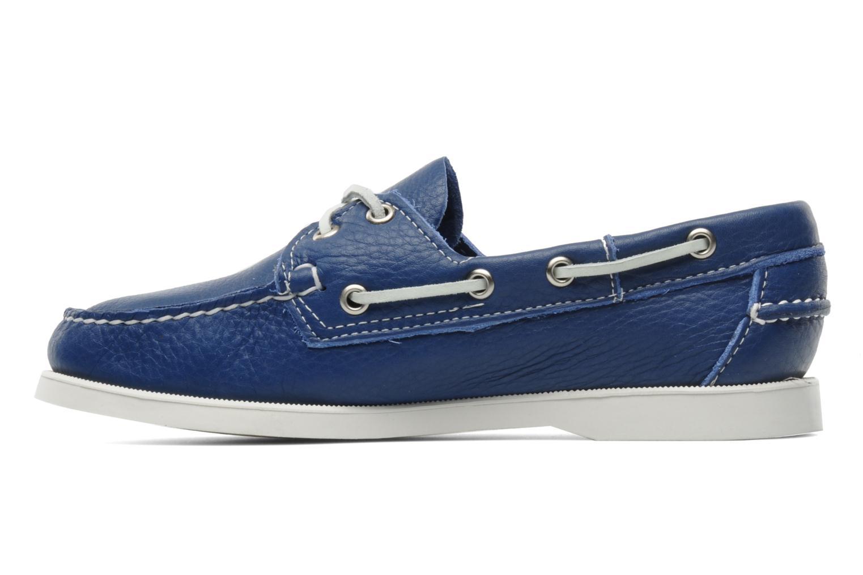 Lace-up shoes Sebago Docksides W Blue front view