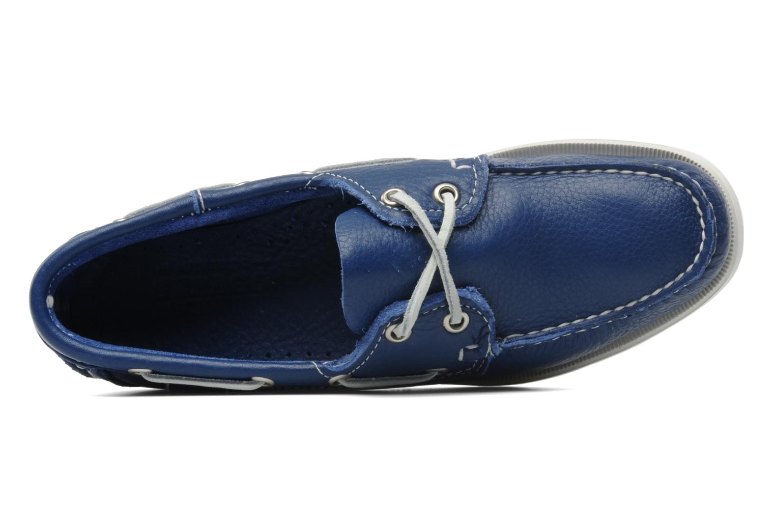 Lace-up shoes Sebago Docksides W Blue view from the left