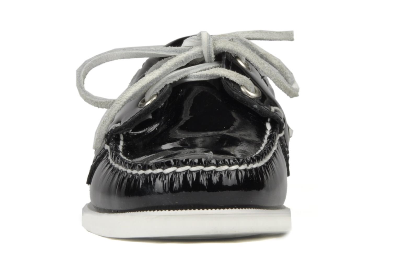 Chaussures à lacets Sebago Docksides W Noir vue portées chaussures