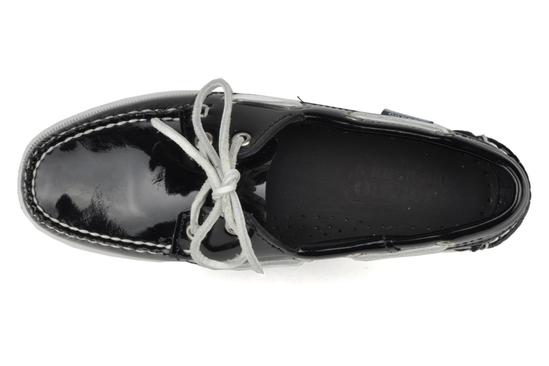 Chaussures à lacets Sebago Docksides W Noir vue gauche