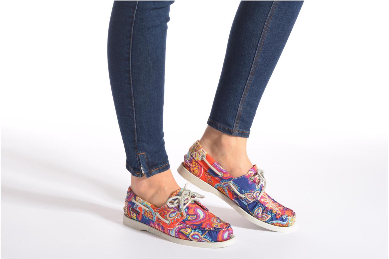 Chaussures à lacets Sebago Docksides W Multicolore vue bas / vue portée sac