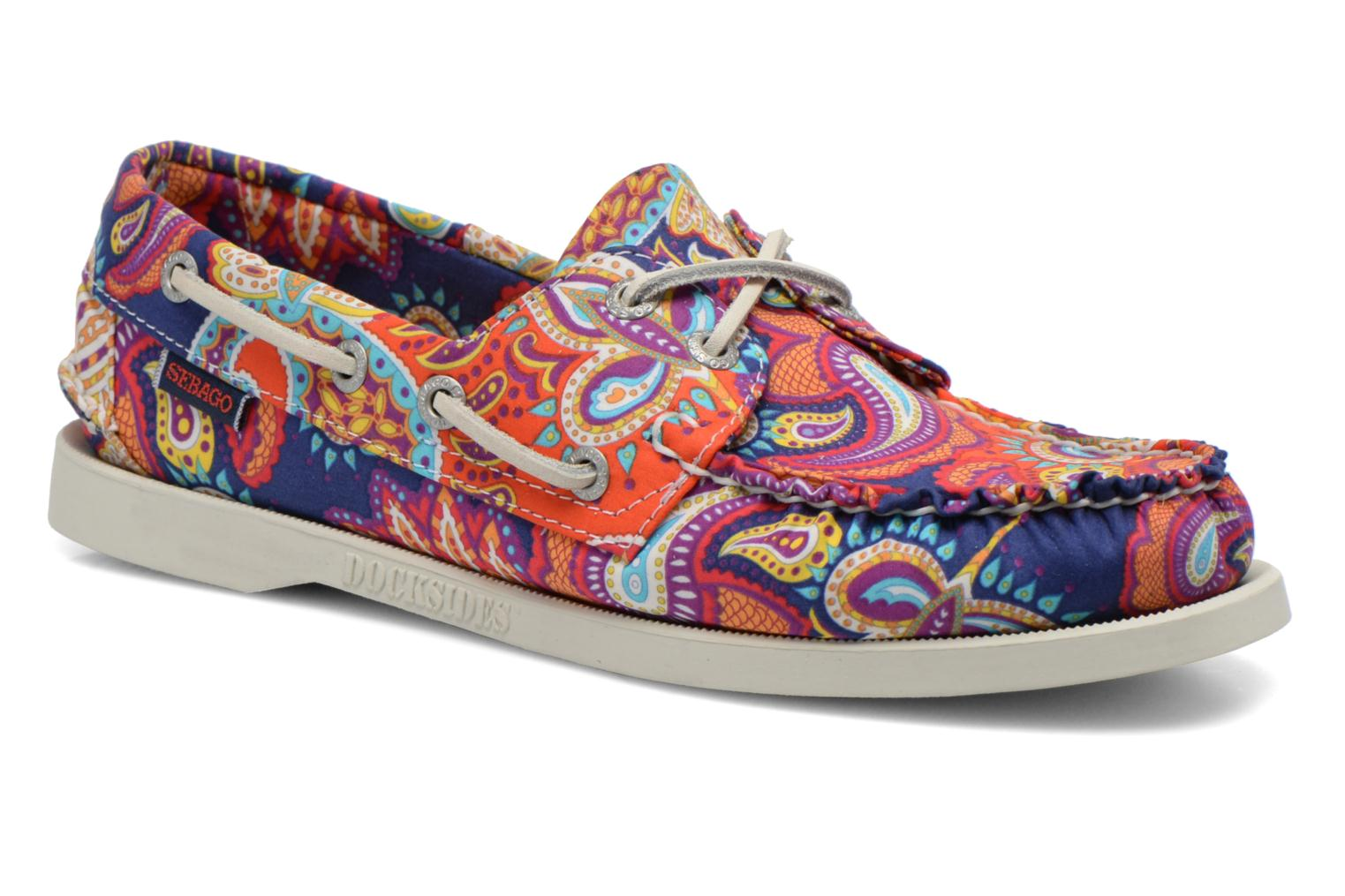 Veterschoenen Sebago Docksides W Multicolor detail