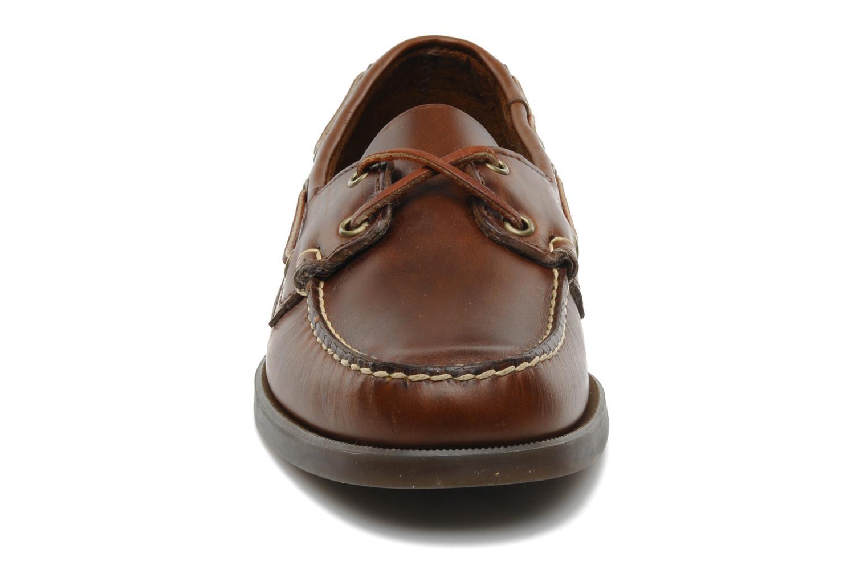 Schnürschuhe Sebago Docksides M braun schuhe getragen