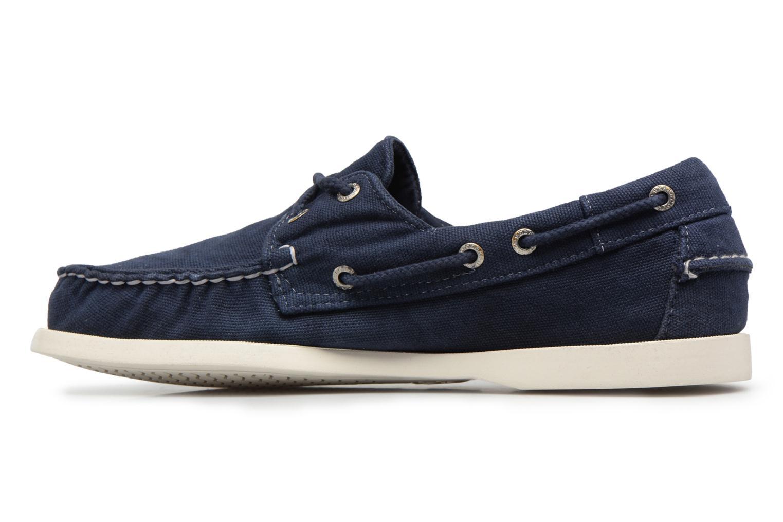 Schnürschuhe Sebago Docksides M blau ansicht von vorne