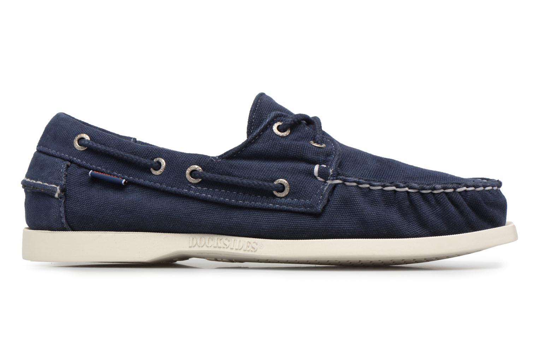 Zapatos con cordones Sebago Docksides M Azul vistra trasera